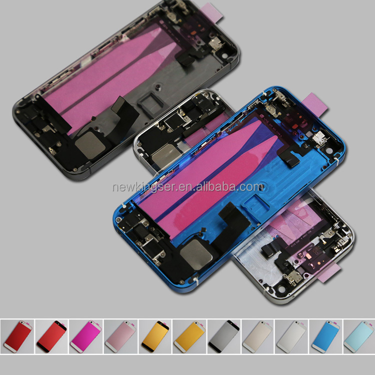 Customize your IMEI! New Complete Full Set Back Housing Battery for iphone 5s full housing
