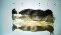 Top quality 100% virgin grey hair extensions wig with best price
