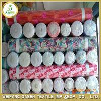 price per yard cheap polyester fabric stocklot fabric in china
