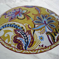 Chinese wool handmade carpet rug flower design carpets and rugs