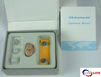 Mini hearing aid for Old people care gift with ITE type