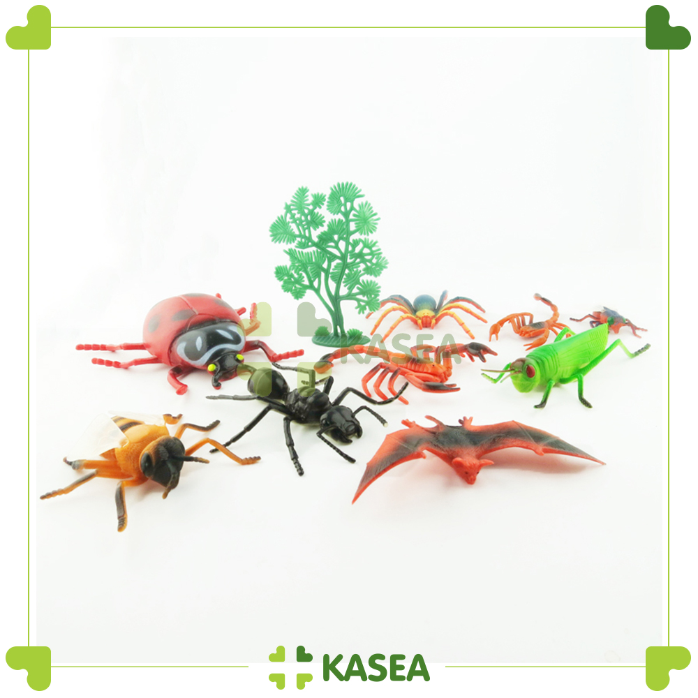 Montessori Toys Wooden Puzzle - Insect set