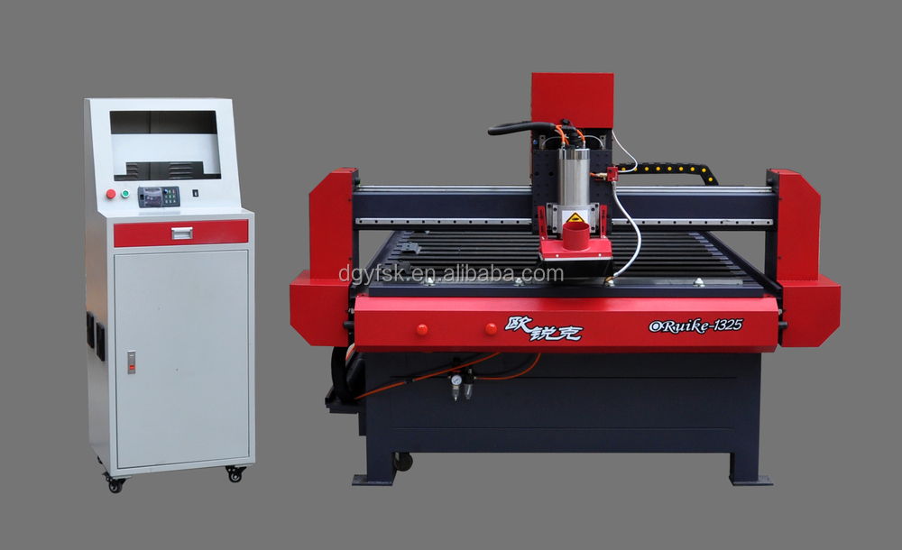 cnc engraving machine/metal router with SERVO motor (ORUIKE-1325)