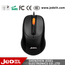 Jedel computer accessories supplier,cheapest price wired usb optical mouse for computer and laptop