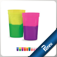 Food Grade Plastic Temperature Color Change Cup