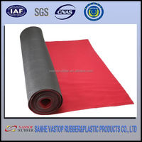 Polyester rubber mouse pad roll mouse pad material