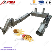 Gold Supplier French Fries Crisp Making Machine Production Line Potato Flakes Machinery
