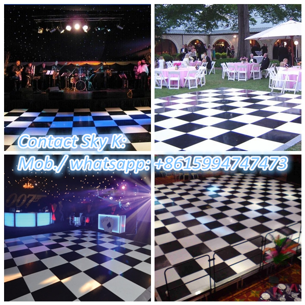 non-slip dance flooring for backyard trailers boat hlh-029 100*21mm