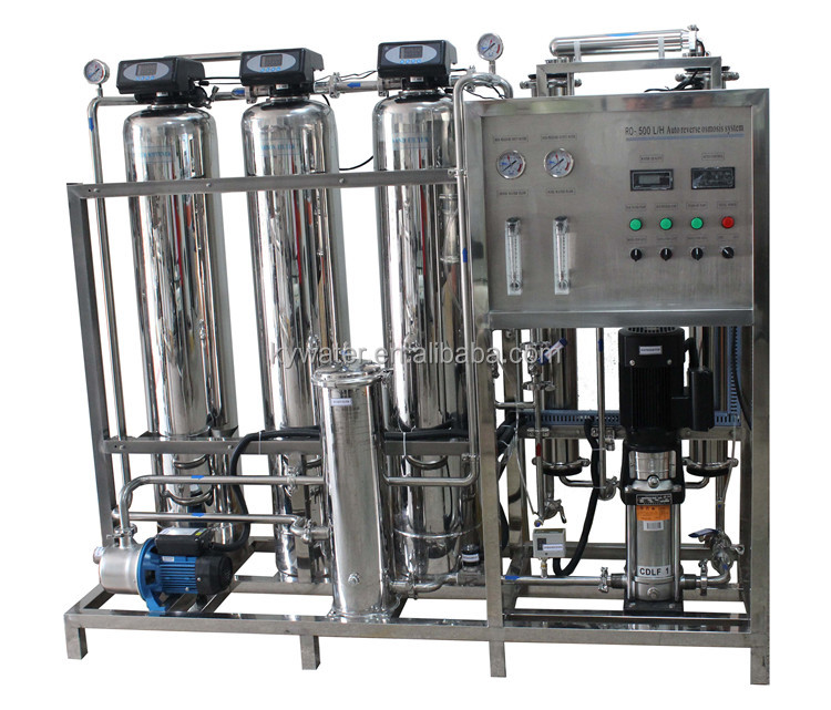 commercial automatic 0.5 tons per hour ro system reverse osmosis/commercial water filter plant