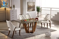 Northern europe simple furniture design marble dinning table 160cm
