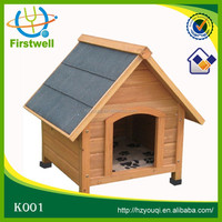 Strong wooden dog house factory direct