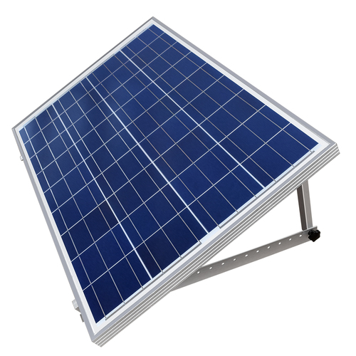 "Adjustable Triangle Solar Panel Tilt Mount Bracket for RV and Caravan with  22"" Mounting Arms 100W"