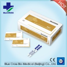 2017 The Latest Convenient High Accuracy Super Rapid Medical Diagnostic Myo Myoglobin True Test Strips (Colloidal Gold) With CE