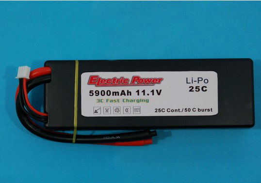 hard case lipo battery 4000mah 11.1V battery for car