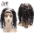 Raw Burmese Virgin Human Hair Extensions Curly Short Cut Full Lace Wigs For Women