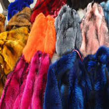 Good Quality Natural Color Raw Silver Fox Fur Skin/Pelt For Sale
