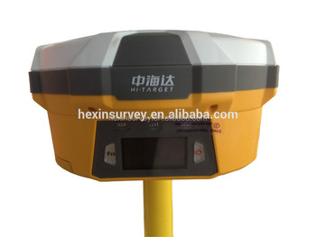 Dual-Frequency Hi-target v60 GNSS TRK GPS Base and Rover Receiver