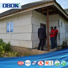 OBON prefabricated building houses sale in philippines and guyana