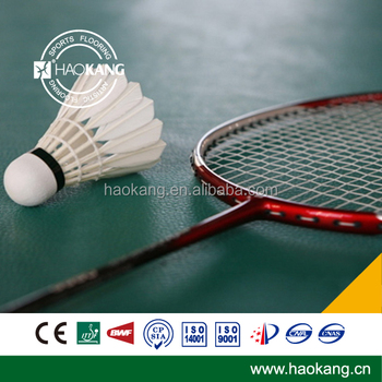 High quality BWF Confirmed Badminton Court Sports Pvc Floor
