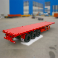 2 Axle Flatbed Container 3 Axle