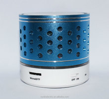 can take pictures portable mini Wireless Bluetooth Speaker for sporter with LED light
