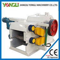 Anti-abrasion high capacity wood logs sliced machine with CE approved