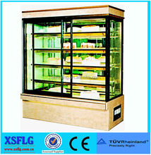 XSFLG cake fridge/chocolate refrigerator display case/cake display chiller