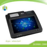 Good price Loyalty Payment pos terminal with 10.1 inch touch screen,card reader,barcode reader,thermal printer ----Gc039B