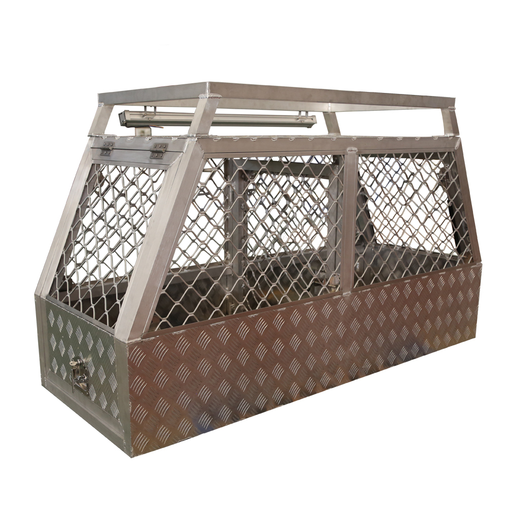 Homemade Aluminium Alloy Truck Hog Hunting Dog Boxes Designs For Ute For Sale NZ/Australia, View ute dog box, KINDLEPLATE Product Details from Foshan ...