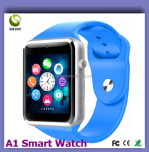 "Cheapest Wholesale Stock 1.54"" Touch Screen WIFI GSM Sim Card Phone A1 U8 GT08 DZ09 Bluetooth 3G Android GPS Smart Watch"
