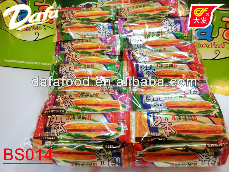 Japanese Hamburger name of the biscuits manufacturers