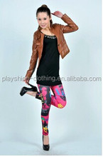 Modern Beauty Pattern Leggings girls pictures sexy pantyhose leggings For Christmas