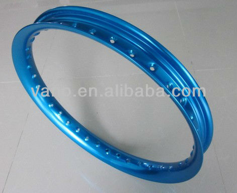 Blue 36 Hole 18 inch Motorcycle Alloy Wheels Rim H 18x2.15