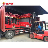 Rough terrain scissor lift hydraulic table lift table for sale