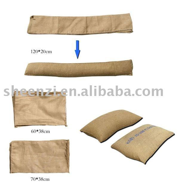 20103 Water-preventing flood sandbag/ inflatable flood sandbag/flood control sandbag