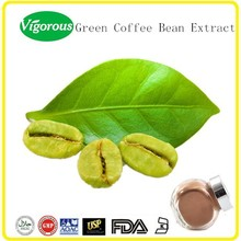 100% Natural Green Coffee Bean Extract,Green coffee extract 50%.green coffee beans wholesale