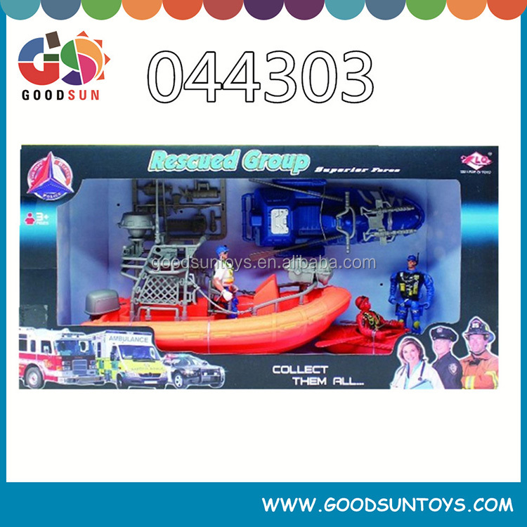 high quality series for kids military rescue car and airplane play set for sale