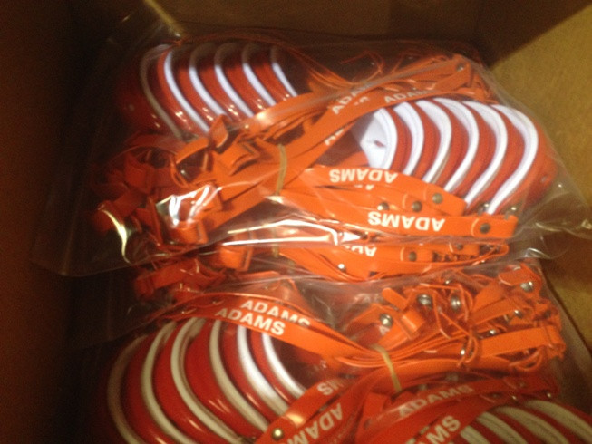 Football Chinstraps (Large Quantity from Manufacturer Liquidation Sale)
