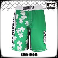 lucky sport short fitness wear sublimation printed mma shorts