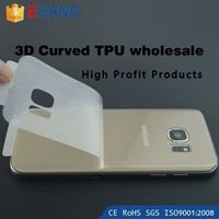 Import mobile phone accessories full screen film 0.100mm TPU screen protector for iphone 4s