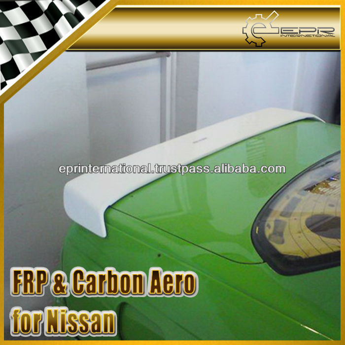 EPR-Wholesale Retail With Carbon Fiber FRP Fiber Glass For Nissan Skyline R32 GTS GTR D-Max Rear Trunk Spoiler Wing