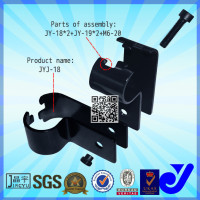 JYJ-18|Anti-rust metal joint system|2.5mm black pipe clamp