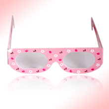 2014 hot sales cartoon 3d linear polarized movie eyeglasses