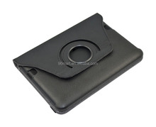 360 degree rotating leather case for amazon kindle fire hd 7,smart cover leather case
