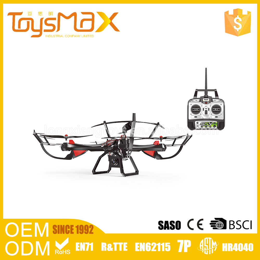Most popular 2.4G hd camera one-key returning rc aircraft model with headless mode