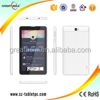 new products 3G Phone Call 7inch andriod tablet pc mtk8312 dual sim