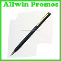 Skinny Metal Twist Ball Pen Slim
