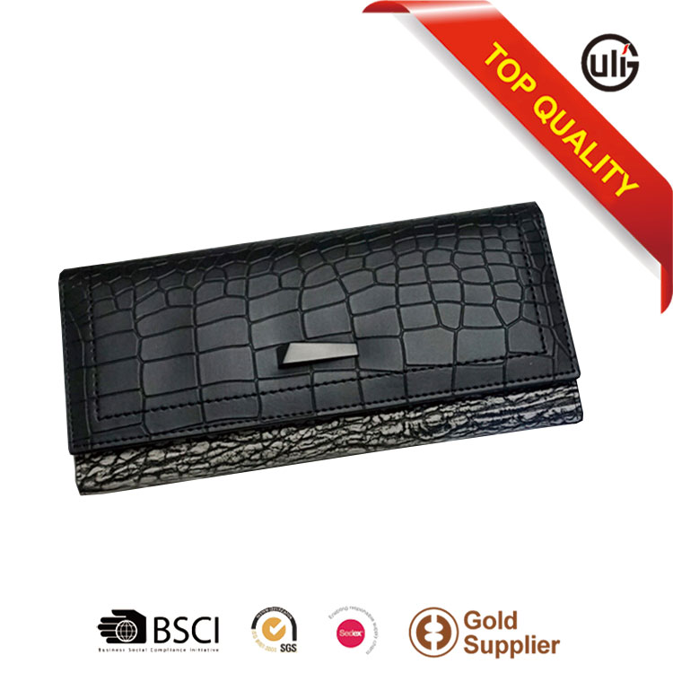 wholesale PU leather ladies purse taobao women baellerry wallet