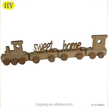 Hot selling Fashion Different Designs Wooden Train Letters