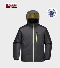 China OEM supplier men waterproof mountain life outdoor jacket with hooded